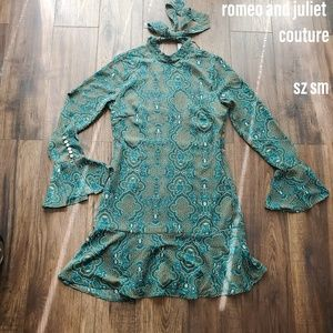 Romeo and Juliet Couture 70's Inspired Dress S